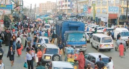 Rabshado Xaafada Eastleigh & 2boqol oo Soomaali lagu xiriray Nairobi