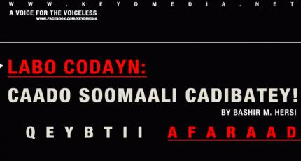 Labo Codayn: Caado Soomaali Cadibatey!