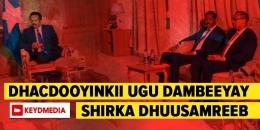 Goos Goos: Dhacdooyinkii u danbeeyay ee Shirka Dhuusamareeb
