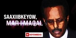 Saaxiibkeyow Mar I Maqal