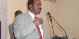 Madaxweyne Xasan Sheikh oo Nairobi kula shiray Jaaliyadda Soomaalida