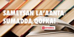 Sameysan la'aanta sumadda qofka!