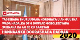 Shuruudaha hordhac u ah guusha DF iyo dowlad Goboleedyada
