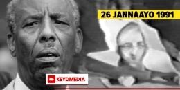 26 Jannaayo 1991: Maalintii labaad ee gobannimada Soomaaliya