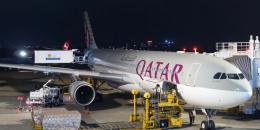 Diyaarad Qatar ka timid oo xili habeen ah Muqdisho kasoo degtay
