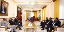 Madaxda ku shirsan Villa Somalia oo heshiis gaaray