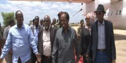 Safarka Madaxweynaha ee Baydhabo