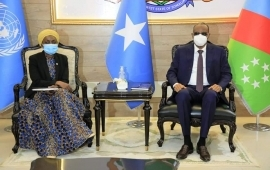 UN and EU envoys arrive in Baidoa for talks with SW leader