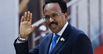 Somalia's outgoing president on verge of resigning before vote