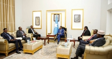 Somali leaders meet for the second day in Mogadishu