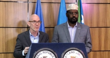 United Nations Envoy for Somalia visits Jubaland