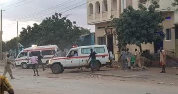 Five civilians killed in Somalia blast