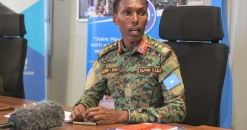 Is Somalia ready to taking the responsibility for its own security?