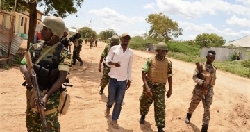 Somali and AU police conduct joint operation ahead of election