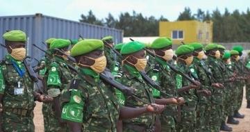 Askar katirsan Ciidanka Burundi oo ka baxay Soomaaliya
