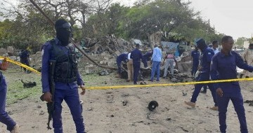 Five killed in two explosions in Somalia