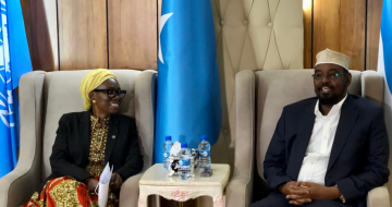 UN official advocating for women's 30% quota visits Jubaland