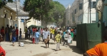 At least one dead as a blast hits Somali port city
