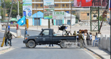 Major roads in Mogadishu ahead of parliament meeting