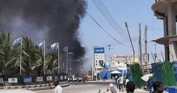 Al-Shabab gunmen storm a hotel in the Somali capital