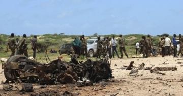Bomb blast targeting military convoy in Somalia kills soldiers