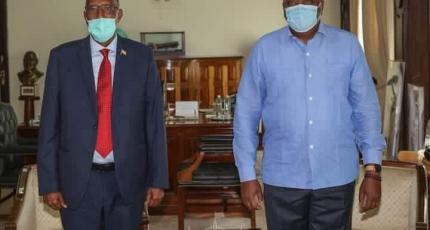 Uhuru oo Madaxtooyadda ku qaabiley Muuse Biixi