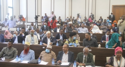Somalia's parliament holds session after 15 MPs suspended