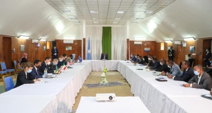 PM Roble meets with foreign diplomats in Mogadishu