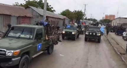 Opposition troopsdriven out of the capital following an agreement
