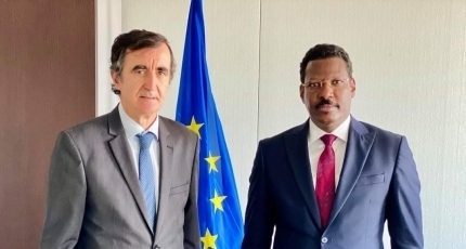 Galmudug leader meets with top EU diplomat in Mogadishu