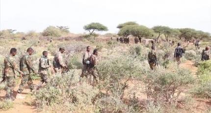 Somali army offensive in southern region kills 17 terrorists