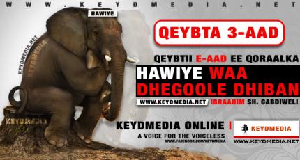 HAWIYE WAA DHEGOOLE DHIBAN - Qeybta 3aad