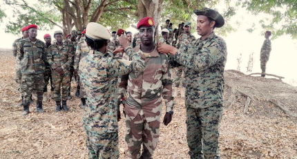 Brave SNA soldiers promoted for their courageous actions of patriotism