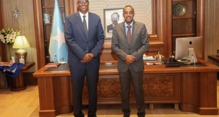 CC Warsame oo markii labaad lagu casuumay Villa Somalia