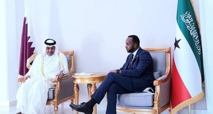 Qatari delegation arrives in Somaliland