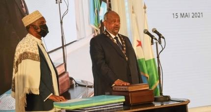 Djibouti President Sworn In for 5th Term in Office