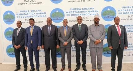 Somalia's election talks enter 3rd day in Mogadishu
