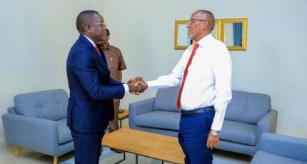 RW hore ee Guinea Bissau oo qeyb ka ah wafdi gaarey Somaliland