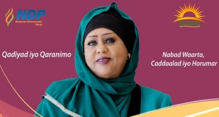 Meet the first woman to run for president in Somalia