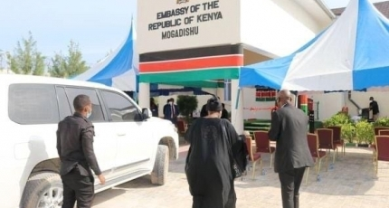Kenya reopens its embassy in Somalia after months of closure
