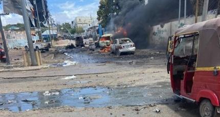 Car bomb hits near presidential palace in Mogadishu