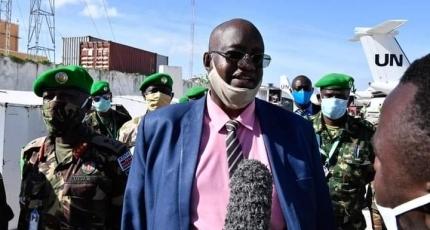 Waa kuma taliyaha cusub ee AMISOM ?