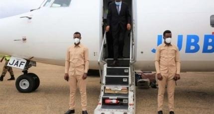 Southwest leader back to Baidoa after meeting Qatari envoy