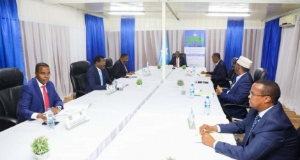 Good news is coming, says spokesman as poll talks underway in Somalia