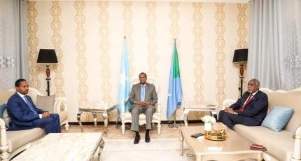 Ethiopian ambassador holds talks with Somali leaders