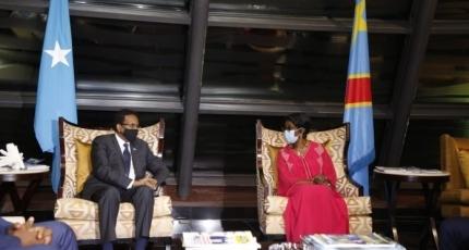 Villa Somalia oo dalbatay Kulanka Farmaajo iyo Tshisekedi