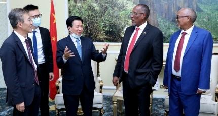 Muuse Biixi oo qaabiley Wafdi ka socda China
