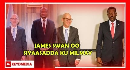 James Swan oo ku milmay Siyaasadda Soomaaliya