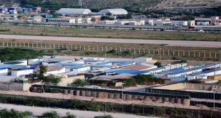 Al-Shabab claims mortar attack on military and diplomatic base