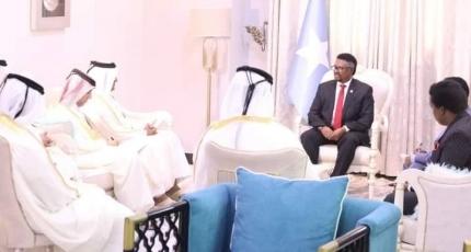 Guddoomiye Mursal oo la kulmay wafdi ka socda dowladda Qatar